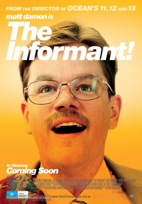 The Informant - Australian Movie Poster