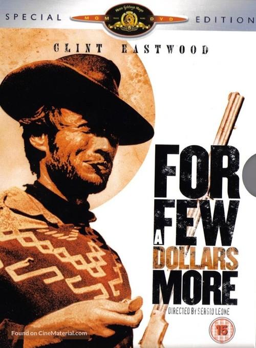Per qualche dollaro in più - British DVD movie cover