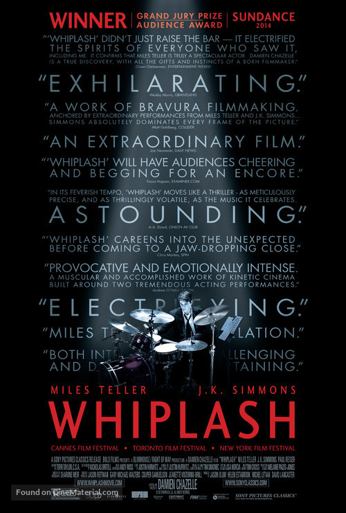 Whiplash - Movie Poster