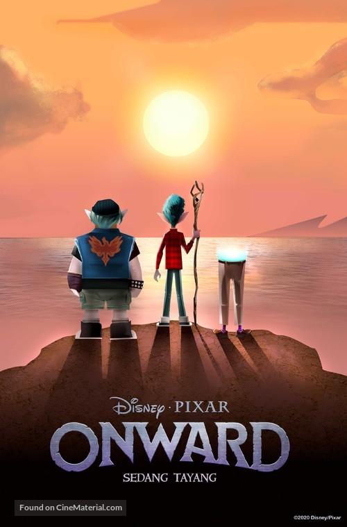 Onward - Indonesian Movie Poster