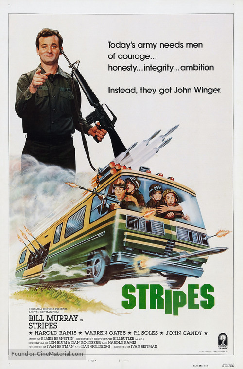 Stripes - Theatrical movie poster