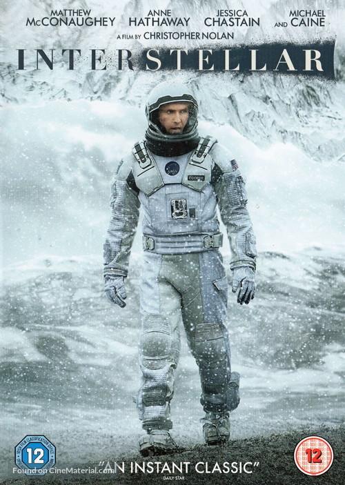 Interstellar - British Movie Cover