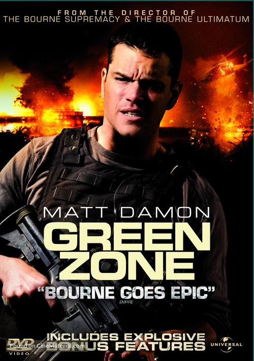 Green Zone - DVD movie cover