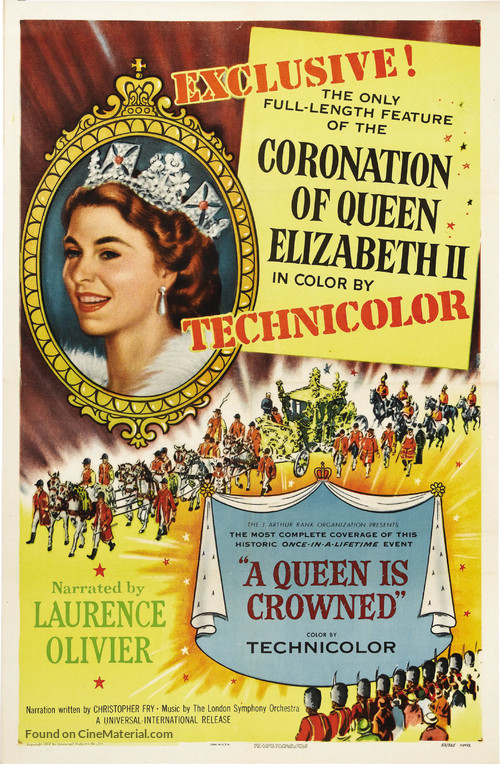 A Queen Is Crowned - Movie Poster