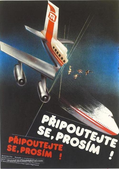 Airplane! - Czech Movie Poster