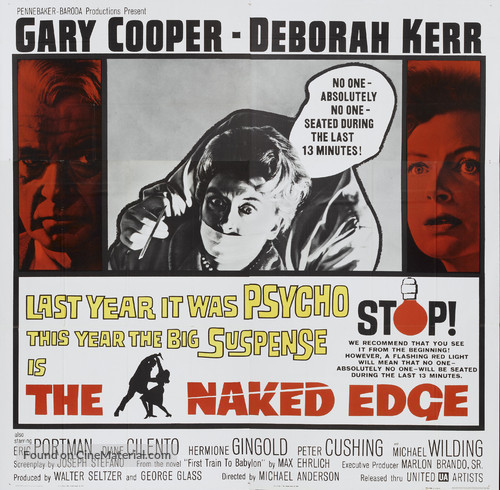 The Naked Edge - Movie Poster