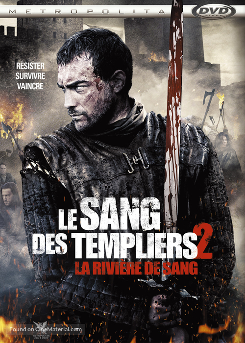 Ironclad: Battle for Blood - French DVD movie cover