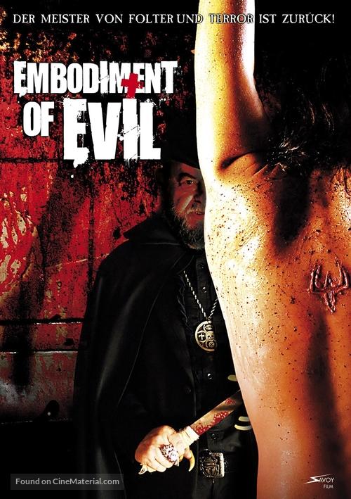 Encarnação do Demônio - German Movie Poster