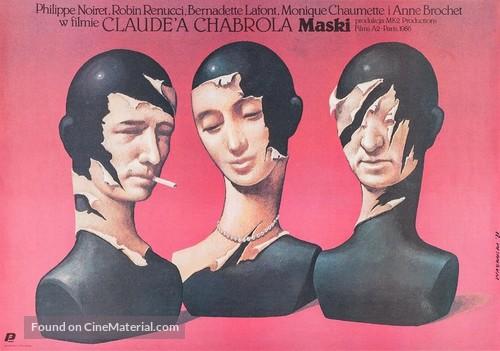 Masques - Polish Movie Poster