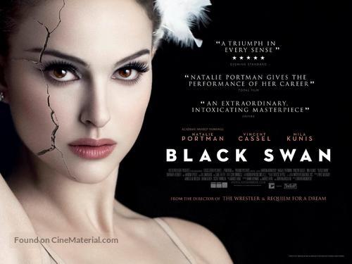 black swan british movie poster