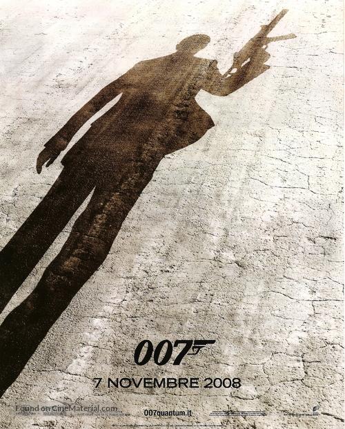 Quantum of Solace - Italian Movie Poster