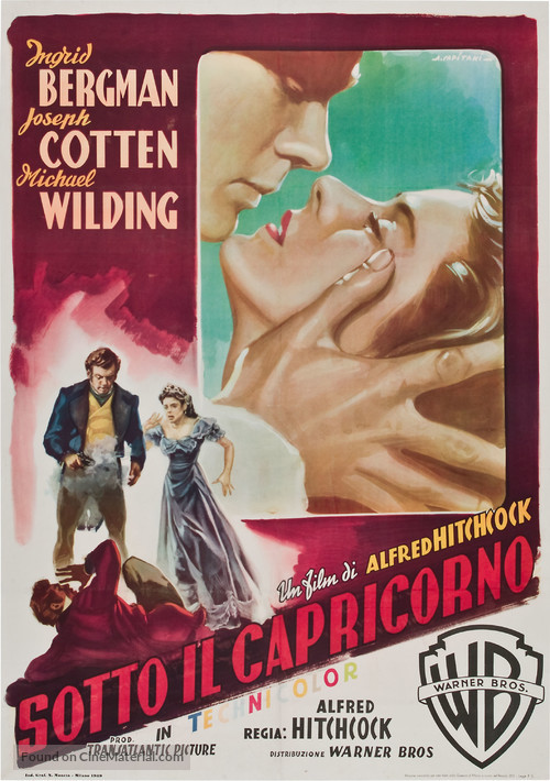 Under Capricorn - Italian Movie Poster