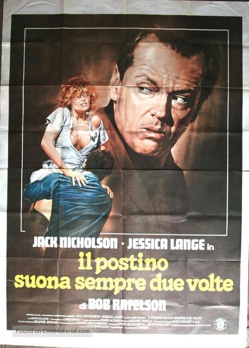 The Postman Always Rings Twice - Italian Movie Poster