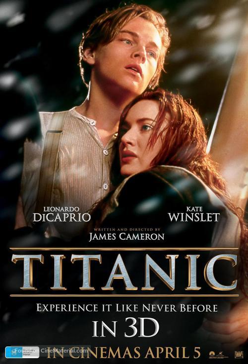 Titanic - Australian Movie Poster