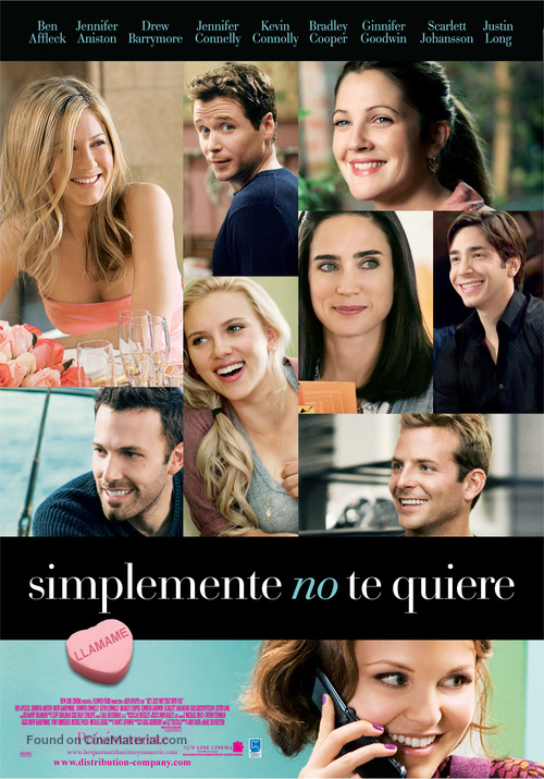 He's Just Not That Into You - Argentinian Movie Poster