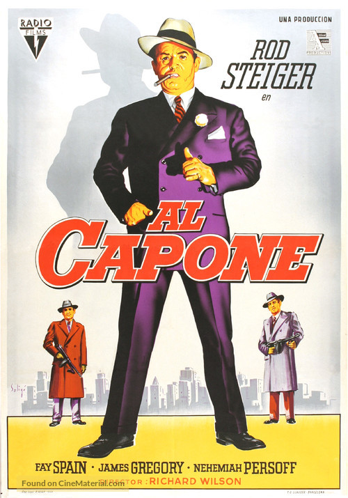 Al Capone - Spanish Movie Poster