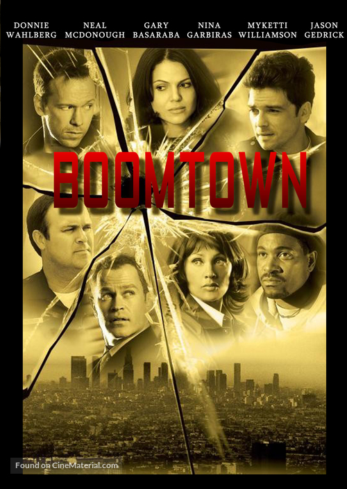 """""""Boomtown"""" - DVD movie cover"""