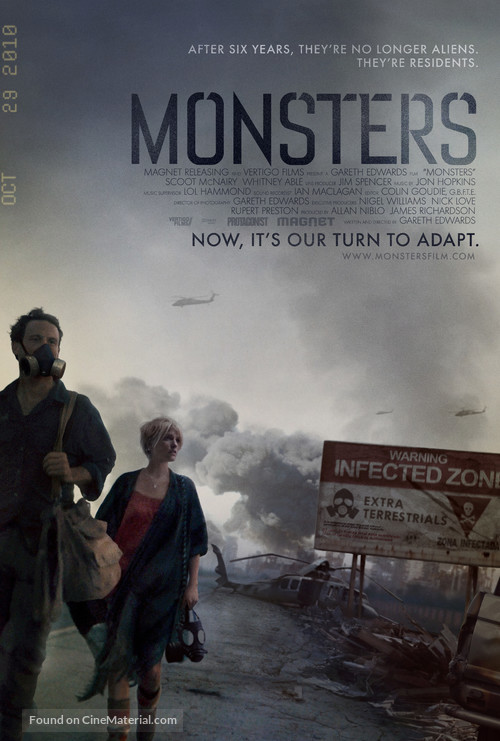 Monsters - Movie Poster