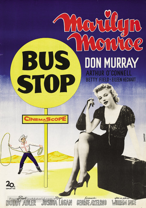 Bus Stop - Swedish Movie Poster