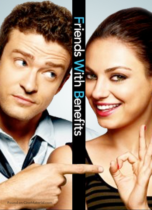 Friends with Benefits - DVD movie cover