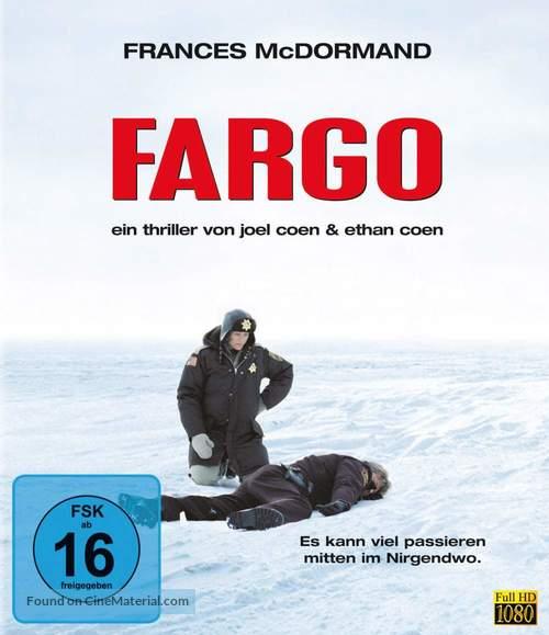 Fargo - German Blu-Ray movie cover