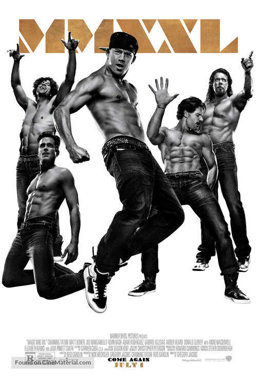 Magic Mike XXL - Movie Poster