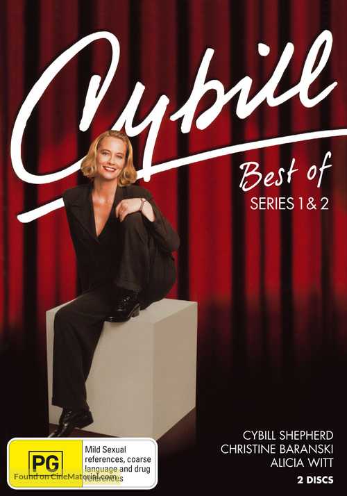 """Cybill"" - Australian DVD movie cover"