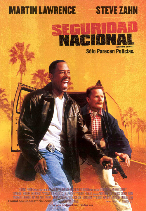 National Security - Spanish Movie Poster