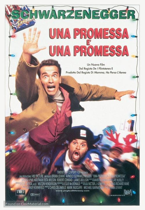 Jingle All The Way - Italian Movie Poster
