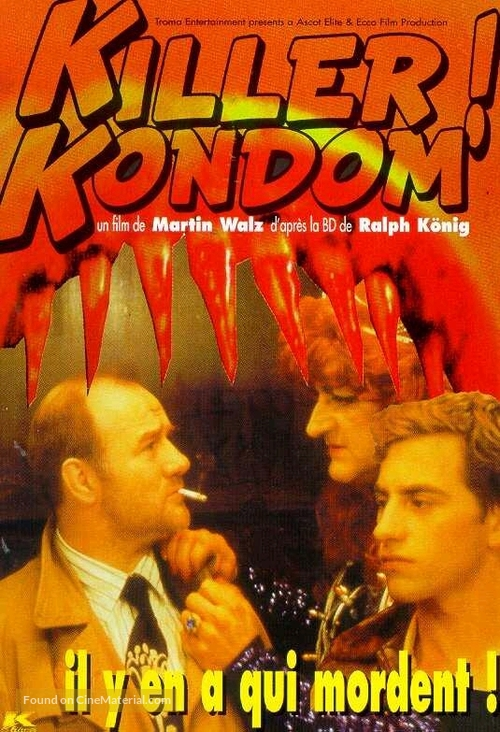 Kondom des Grauens - French VHS movie cover