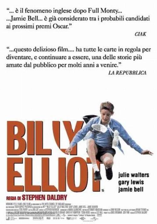 Billy Elliot - Italian Movie Poster