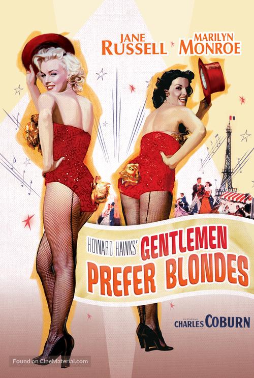 Gentlemen Prefer Blondes - Movie Poster