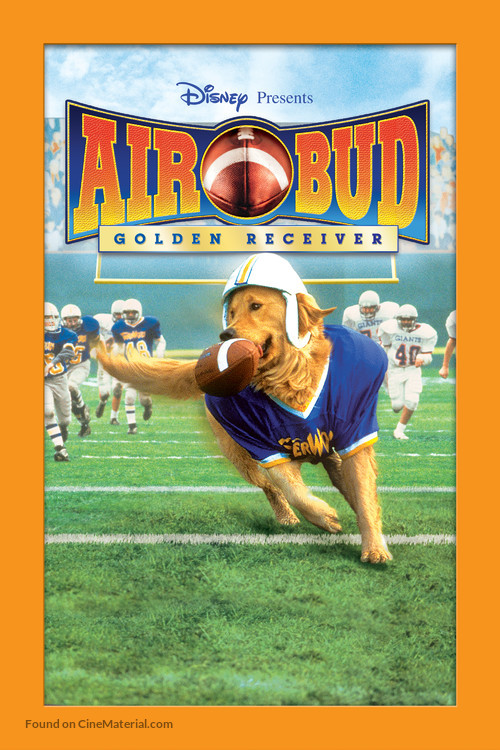 Air Bud: Golden Receiver - DVD movie cover