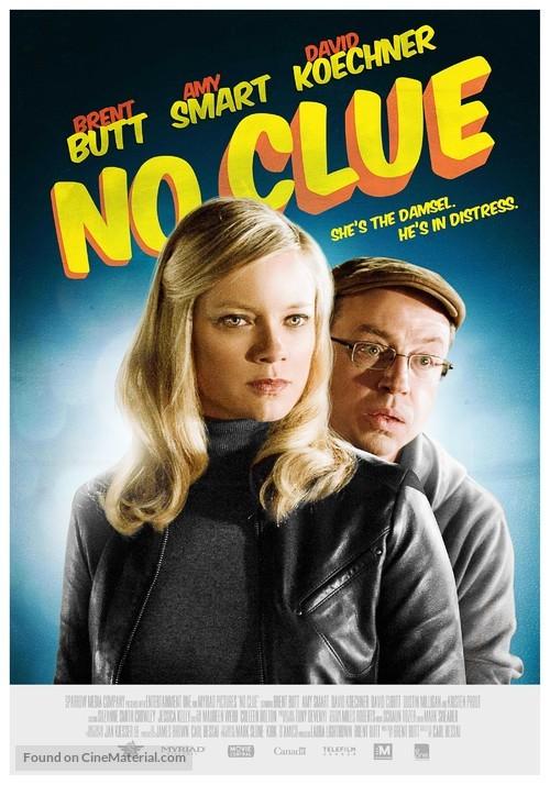 No Clue - Canadian Movie Poster
