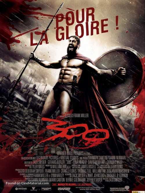 300 - French Movie Poster