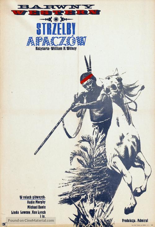 Apache Rifles - Polish Movie Poster