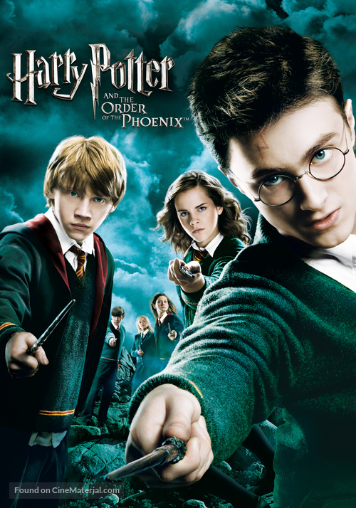 Harry Potter and the Order of the Phoenix - DVD movie cover