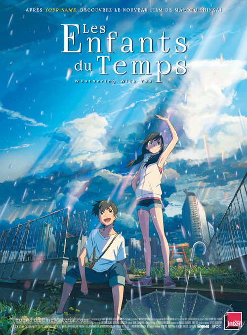 Weathering with You - French Movie Poster