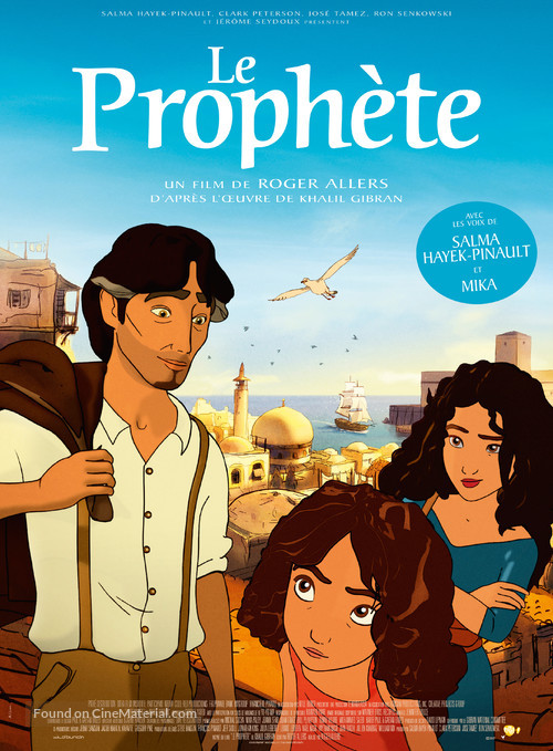 Kahlil Gibran's The Prophet - French Movie Poster