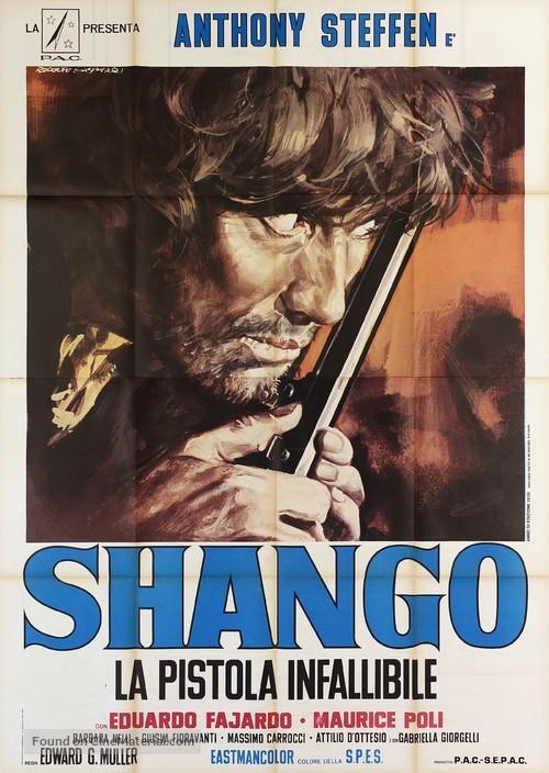 Shango, la pistola infallibile - Italian Movie Poster