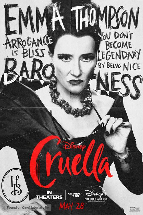 Cruella - Movie Poster