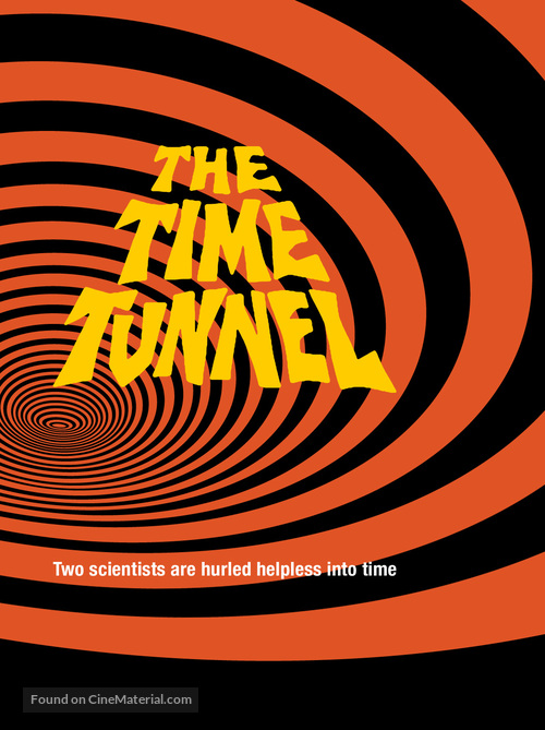 """""""The Time Tunnel"""" - DVD movie cover"""