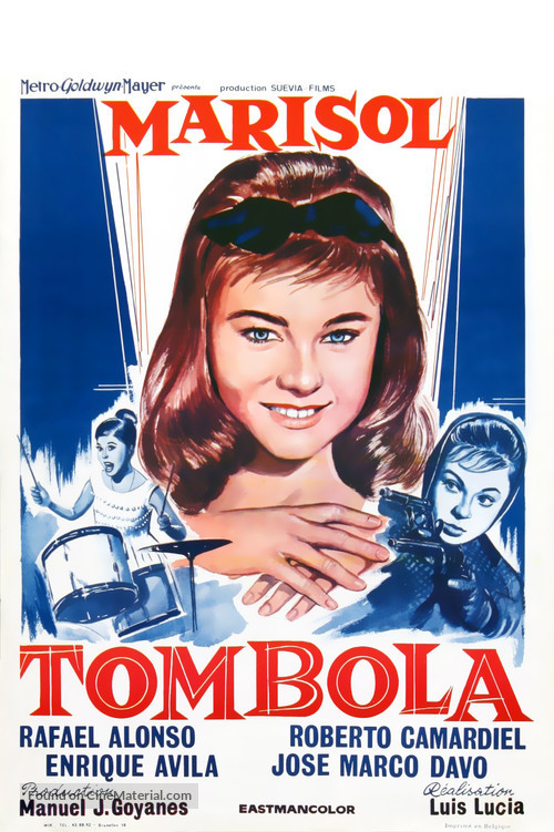 Tómbola - Belgian Movie Poster