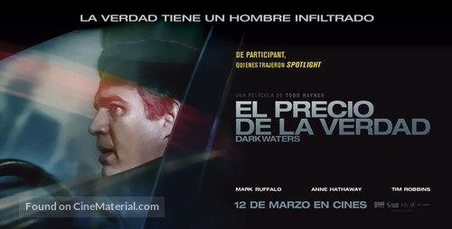 Dark Waters - Argentinian Movie Poster