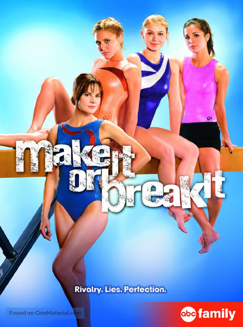 """Make It or Break It"" - DVD movie cover"
