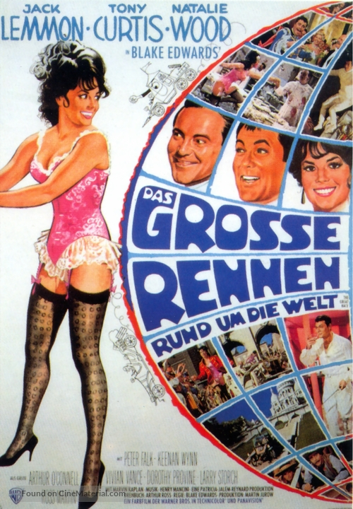 The Great Race - German Movie Poster