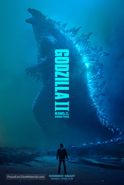 Godzilla: King of the Monsters - Danish Movie Poster