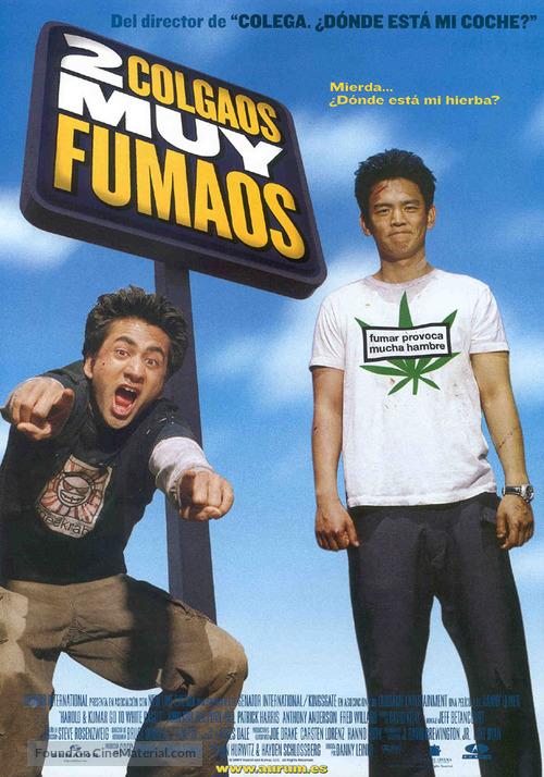 Harold & Kumar Go to White Castle - Spanish Movie Poster
