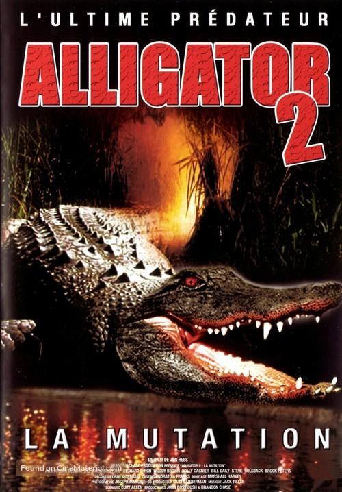 Alligator II: The Mutation - French Movie Poster