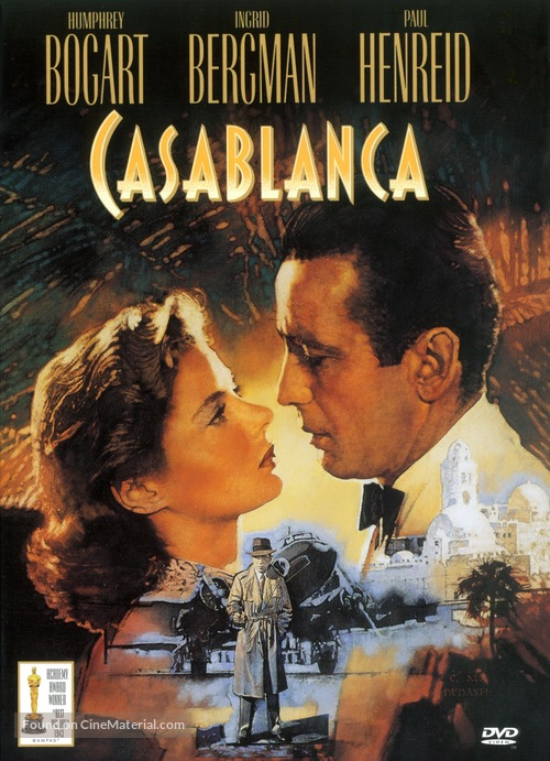 Casablanca - DVD cover